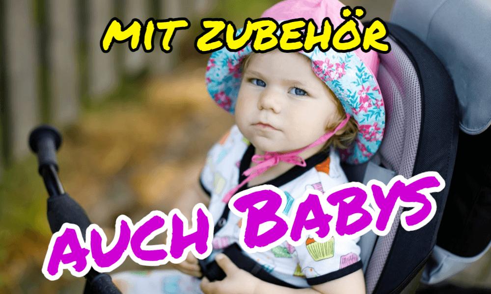 Dreiräder für Babys?