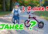Ab welchem Alter ist ein Dreirad geeignet?